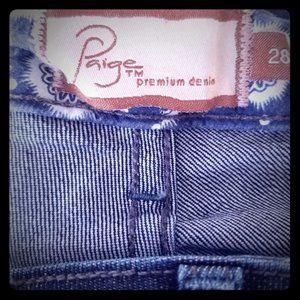 Paige Bootcut Jeans Sz 28---CUTE
